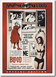 1965 - Colour Me Blood Red (DVD)