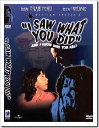1965 - I Saw What You Did (DVD)