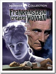 1967 - Frankenstein Created Woman (DVD)