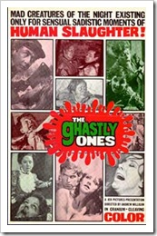 1968 - Ghastly Ones, The (Poster)