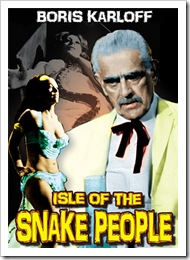 1968 - Isle Of The Snake People (DVD)