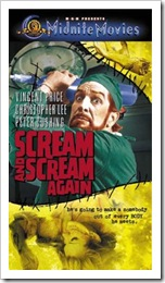 1969 - Scream And Scream Again (VHS)