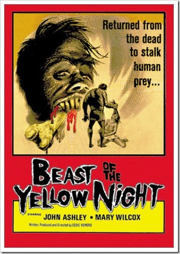 1970 - Beast Of The Yellow Night (Poster)