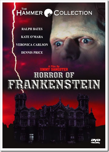 1970 - Horror Of Frankenstein (DVD)