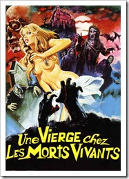 1971 - Virgin Among The Living Dead, A (A)(Poster)