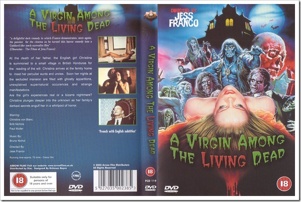 1971 - Virgin Among The Living Dead, A (DVD)