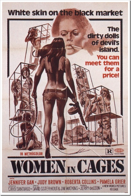 1971 - Women In Cages (Poster)