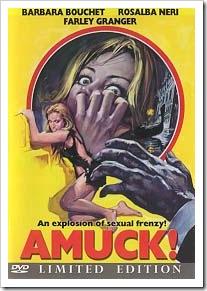 1972 - Amuck (DVD)