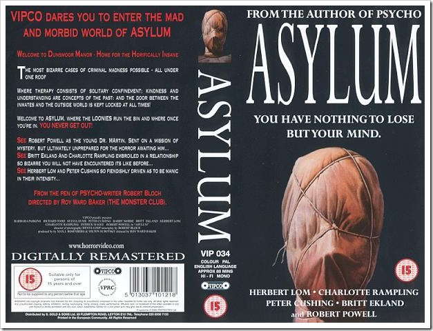 1972 - Asylum (VHS)