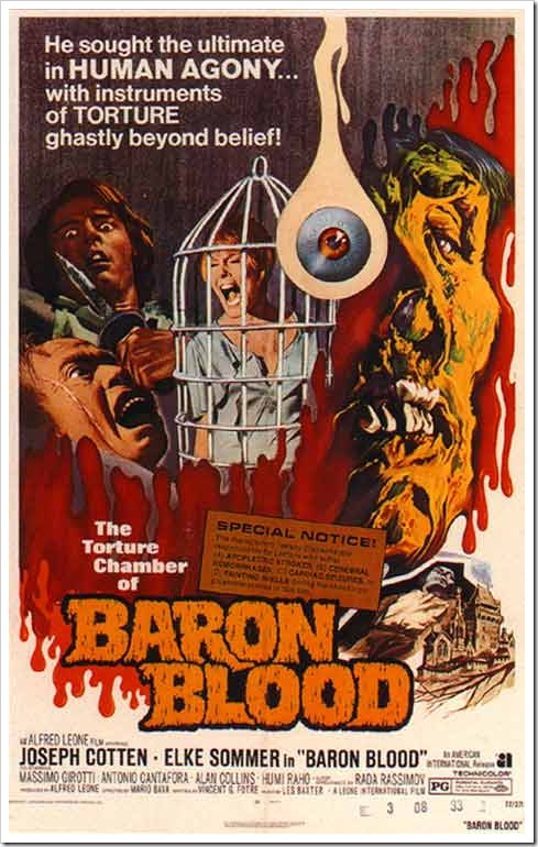 1972 - Baron Blood (A)(Poster)