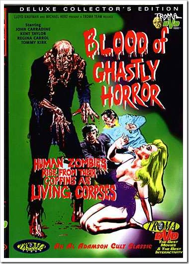 1972 - Blood Of Ghastly Horror (DVD)