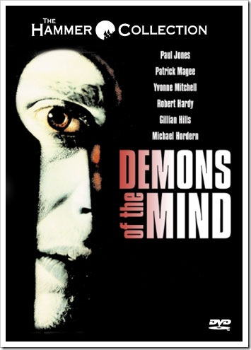 1972 - Demons Of The Mind (DVD)