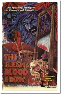 1972 - Flesh And Blood Show, The (Poster)