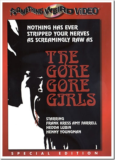 1972 - Gore-Gore Girls, The (DVD)