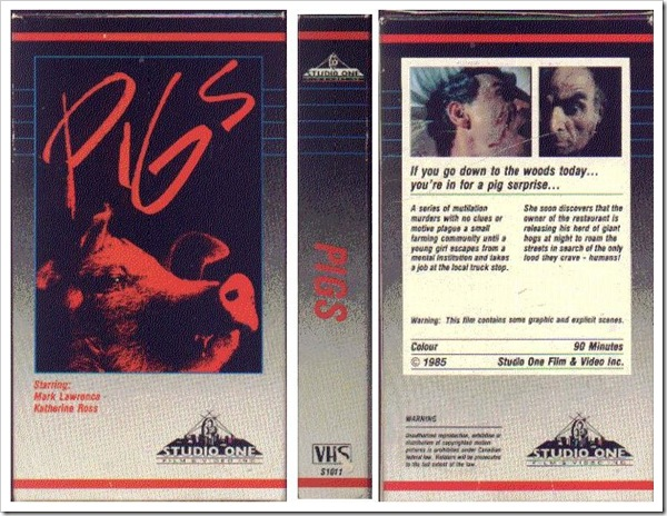 1972 - Pigs (VHS)