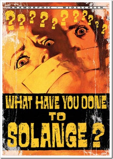 1972 - What Have You Done To Solange (B)(DVD)