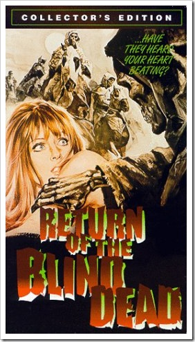 1973 - Return Of The Blind Dead (VHS)