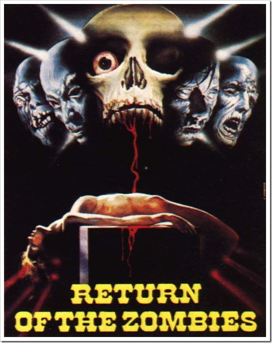 1973 - Return Of The Zombies (Poster)