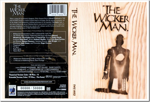 1973 - Wicker Man, The (DVD)