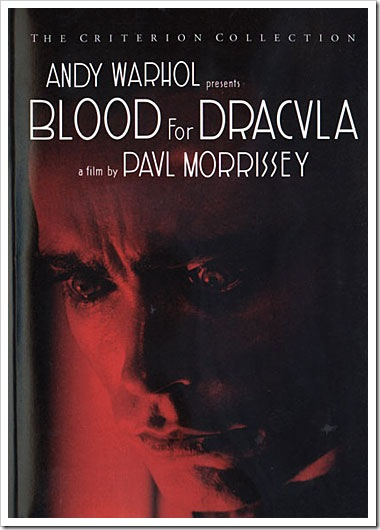 1974 - Blood For Dracula (DVD)