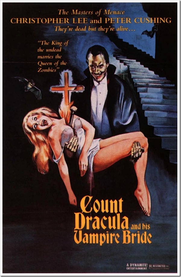 1974 - Count Dracula And His Vampire Bride (Poster)