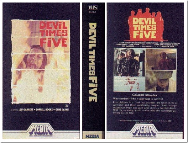 1974 - Devil Times Five (VHS)