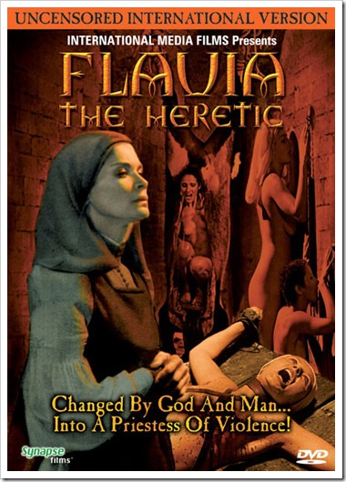 1974 - Flavia The Heretic (DVD)