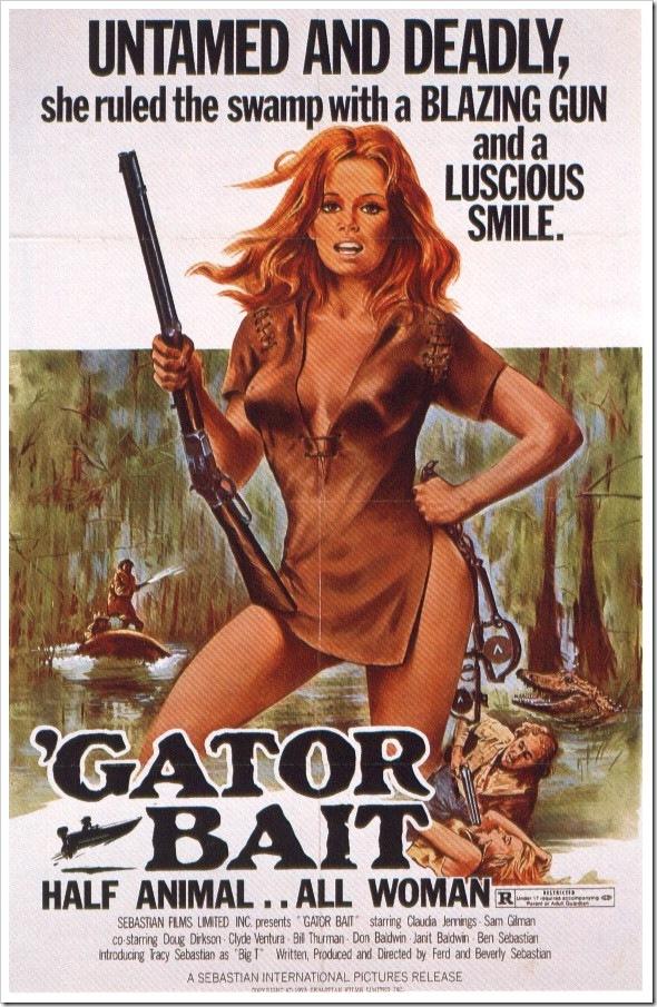 1974 - Gator Bait (Poster)
