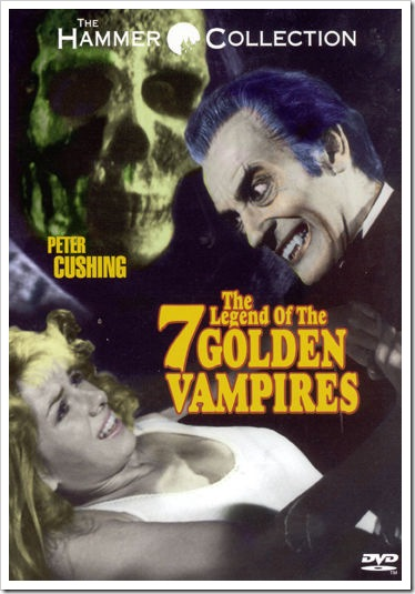 1974 - Legend Of The Seven Golden Vampires, The (DVD)