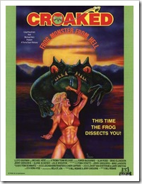 1975 - Croaked Frog Monster From Hell (Poster)