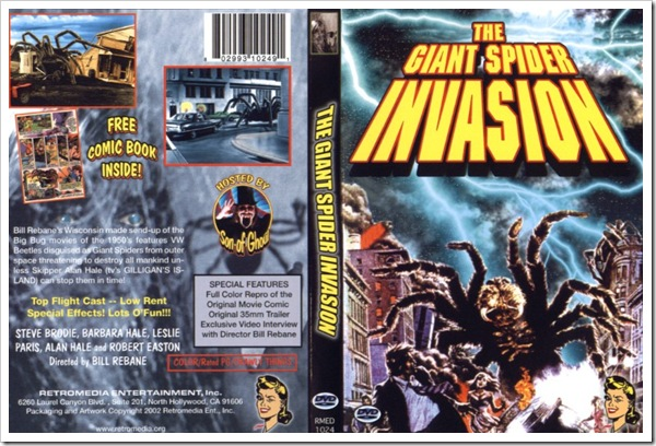 1975 - Giant Spider Invasion, The (DVD)