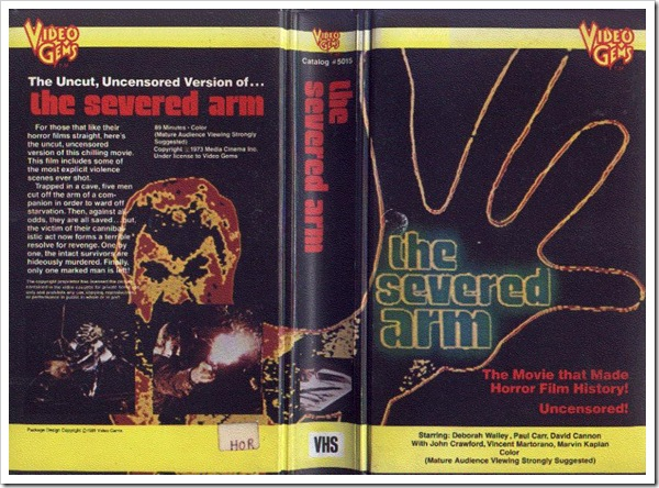 1975 - Severed Arm, The (VHS)