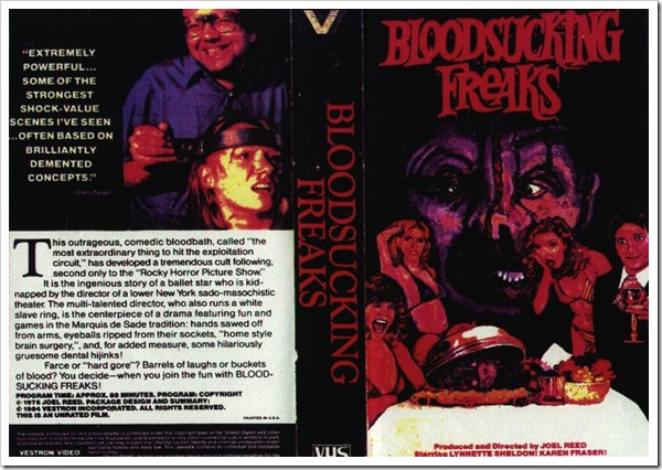 1976 - Bloodsucking Freaks (VHS)