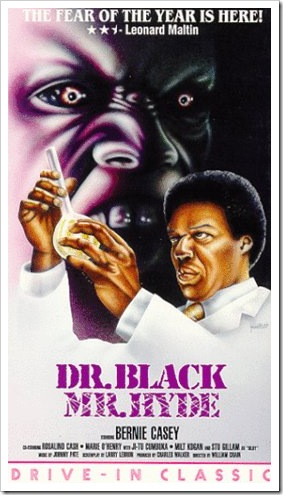 1976 - Dr Black, Mr Hyde (VHS)