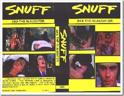 1976 - Snuff (A)(VHS)