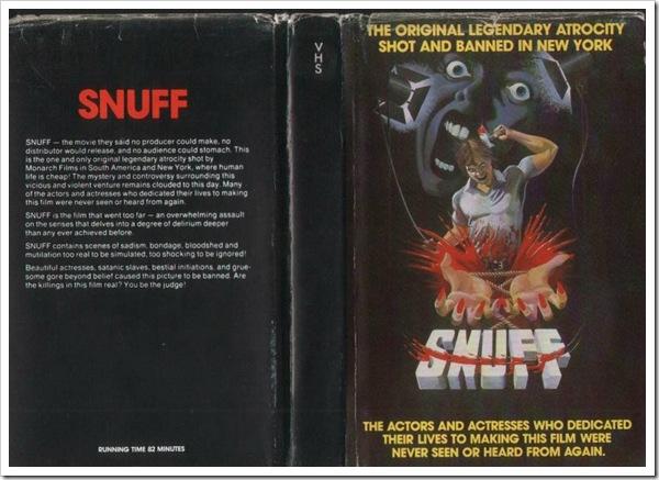 1976 - Snuff (B)(VHS)