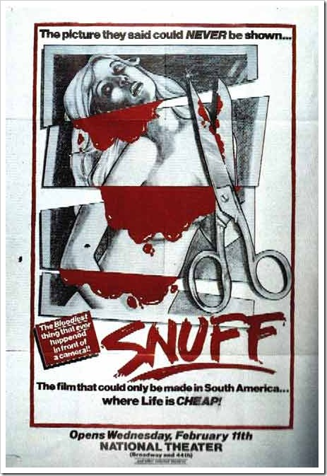 1976 - Snuff (Poster)