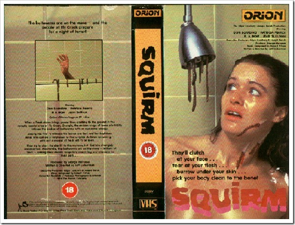 1976 - Squirm (VHS)