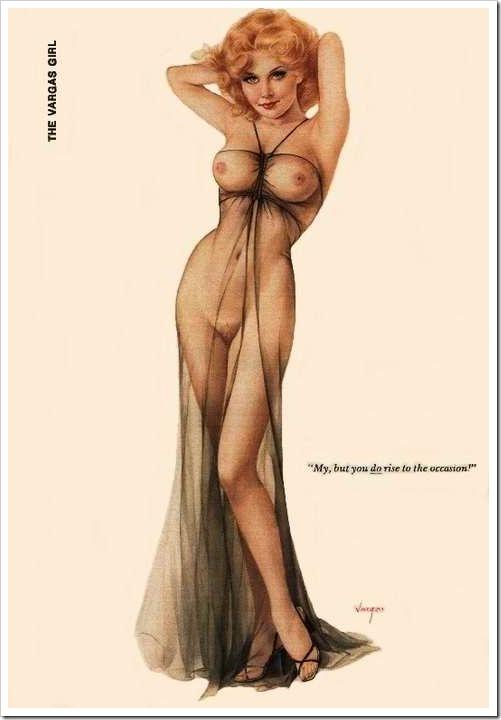 Pin up naked modern girls