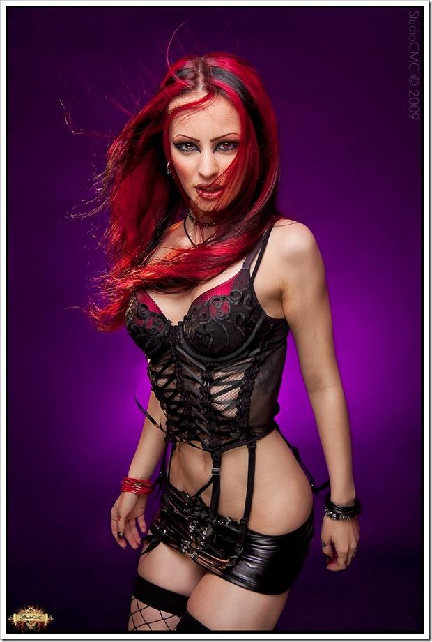 xxpoisonxx sexy redhead gothic girl erotixx