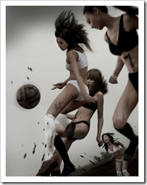 asian-chicks-playing-with-football-ball