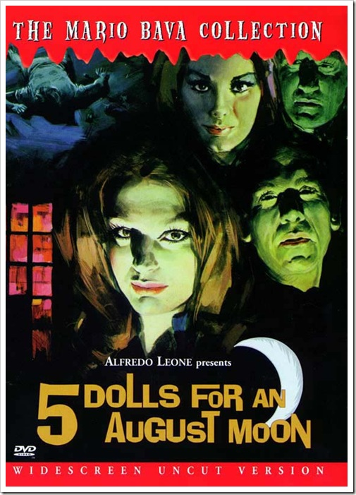1970 - 5 Dolls For An August Moon (DVD)