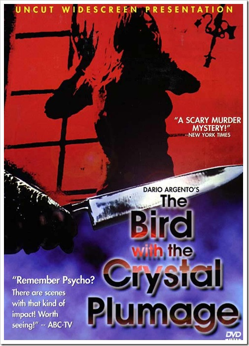 1970 - Bird With The Crystal Plumage, The (DVD)