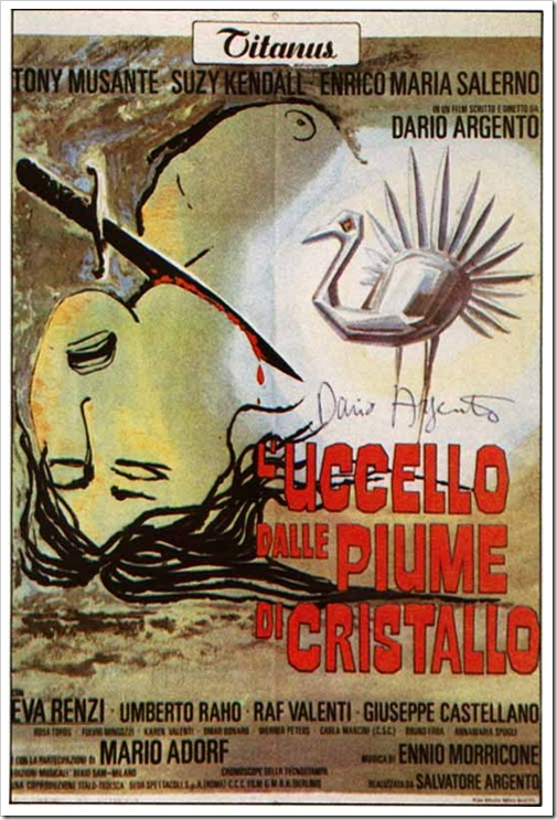 1970 - Bird With The Crystal Plumage, The (Poster)