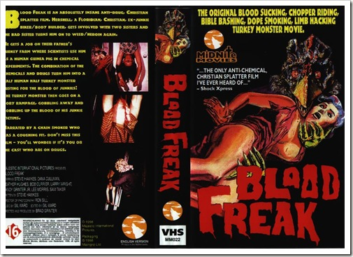1971 - Blood Freak (VHS)