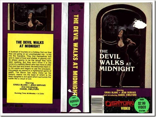 1971 - Devil Walks At Midnight, The (VHS)