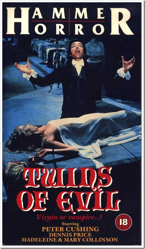 1971 - Twins Of Evil (VHS)