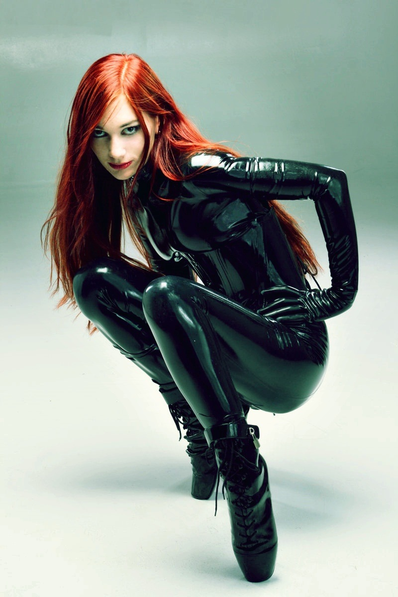Black Widow Costume Shoes