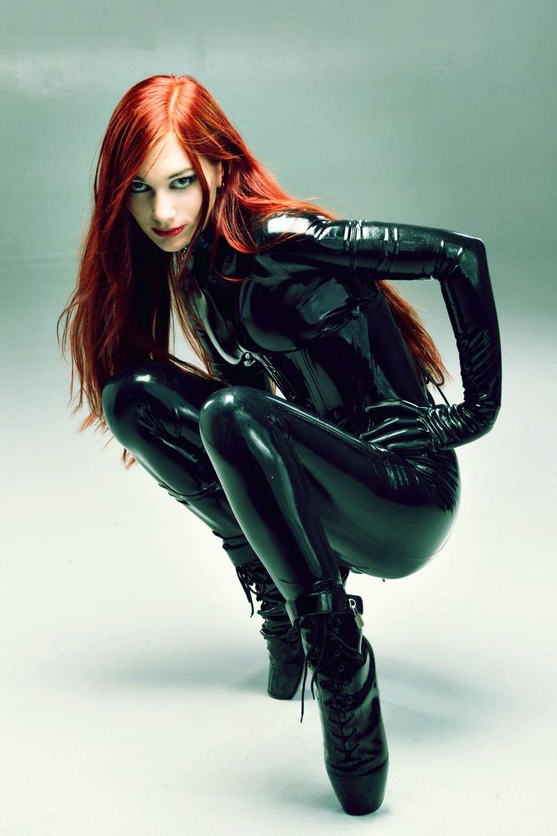 redhead latex