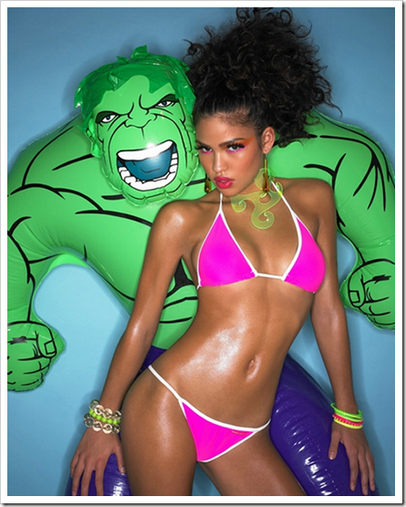 hulk like pretty girls